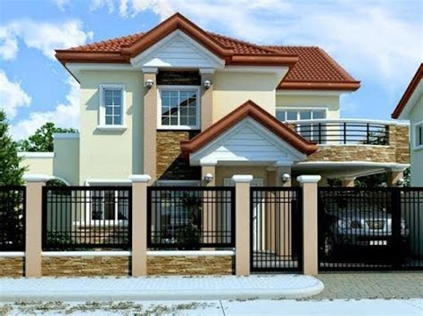 simple 2 story house plans 2018 10 models of 2 story houses with price free floor plan and lay out design