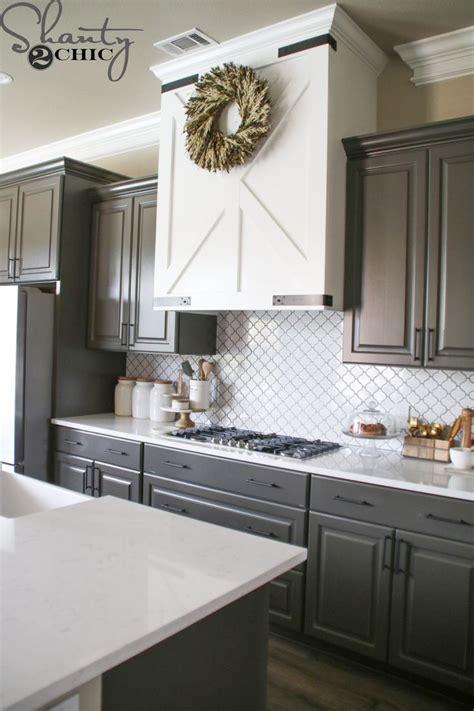 diy barn door vent hood kitchen remodel cost modern