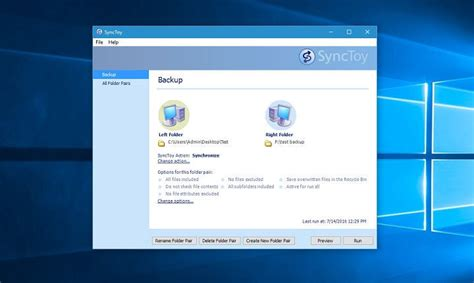 install windows 10 microsoft download and install synctoy on windows 10
