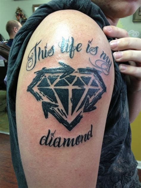 diamond tattoo for men tattoos designs ideas and meaning tattoos for you