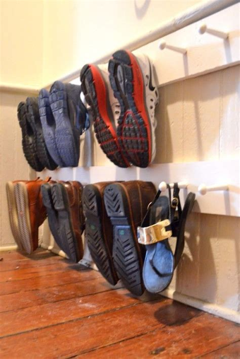 shoe holder diy best 25 shoe hanger ideas on diy purse hanger