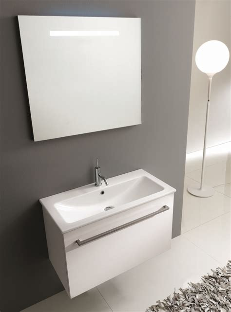 mobile bagno 40 cm mobile bagno moderno pt i40 07 l80 profondit 224 40 cm