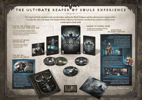 Souls 1 2 Limited Edtion Artbook explore the resplendent reaper of souls collector s edition diablo iii