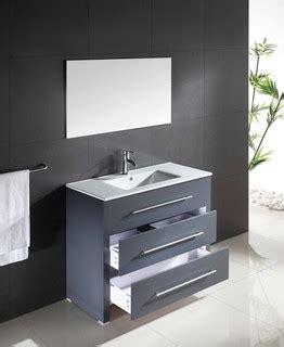 waschtisch waschbecken anthrazit contemporary bathroom