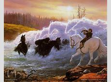 At the Ford - by Ted Nasmith | Featured Artist on the ... Martin Olson