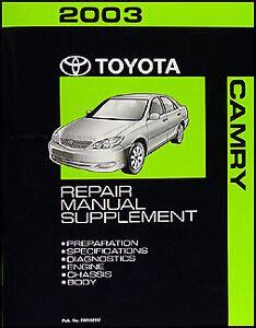 free car repair manuals 2003 toyota corolla engine control 2003 toyota camry repair manual free download