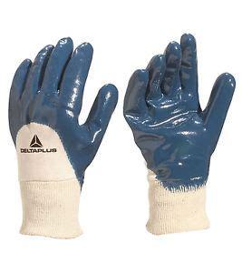 Sarung Tangan Nitrile sarung tangan safety deltaplus ni150 nitrile glove