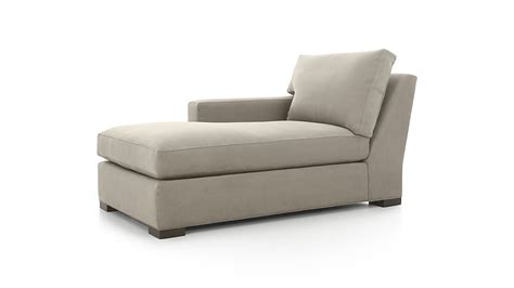 Left Arm Chaise Lounge Axis Ii Left Arm Chaise Lounge Douglas Nickel Crate And Barrel