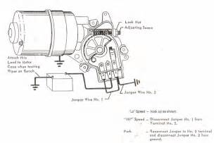 lucas dr3a wiper motor wiring diagram wiring diagram