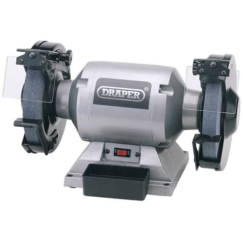 heavy duty bench grinder draper 29621 ghd200 230v 200mm heavy duty bench grinder