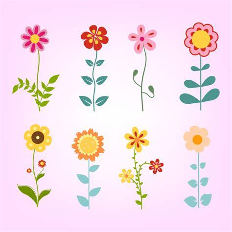 doodle flowers brushes doodle flowers set photoshop vectors