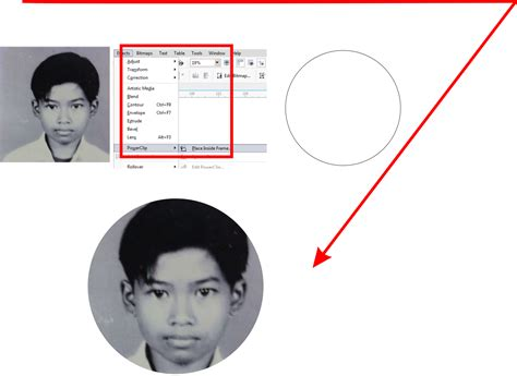 tutorial membuat id card dengan coreldraw x4 membuat id card keren dengan coreldraw bab ii guru corel