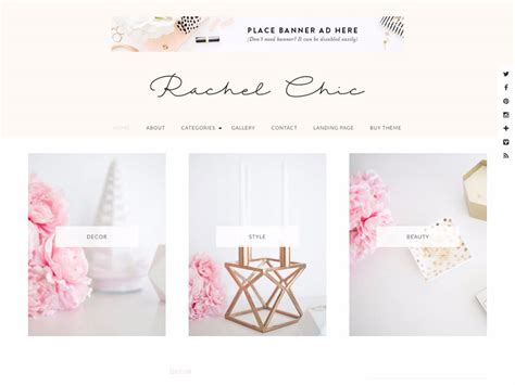 best tumblr themes girly 35 best feminine wordpress themes 2018 athemes
