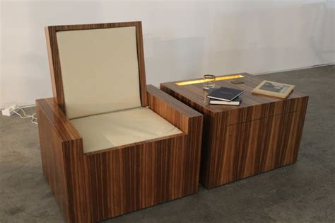 Chair With Secret Compartment by Table Converts To Chair Stashvault