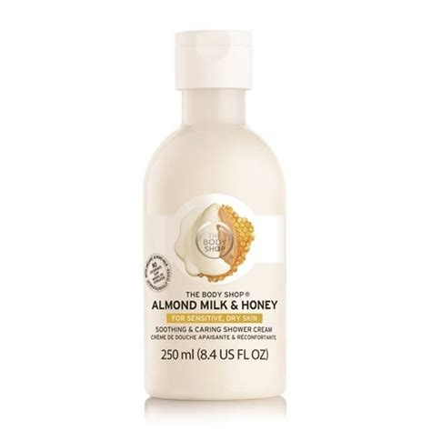 The Shop Milk Plus Calming Moisture Shower the shop almond milk honey range price and availability