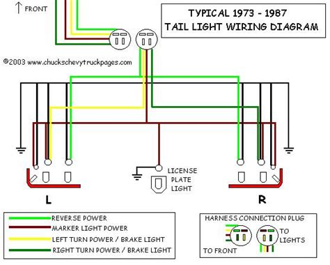 tail light wire diagram toyota nation forum toyota car  truck forums