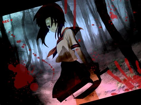 imagenes anime gore extremo ryūgū rena wallpaper and background 1600x1200 id 47662