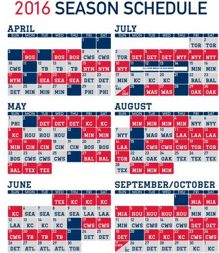 red sox printable schedule 2016 red sox schedule printable calendar template 2016