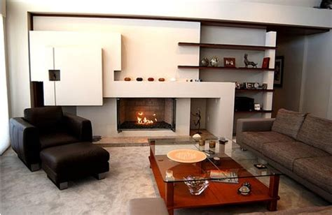 contemporary living room decorating ideas salas modernas de drywall