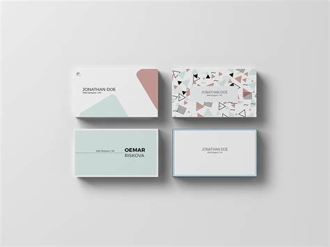 behance business card template business card on behance