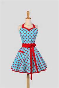 sweetheart retro apron handmade sexy flirty womens apron in