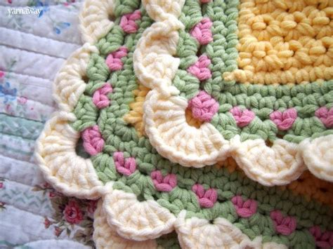 Tiramisu Baby Blanket Crochet Pattern by 25 Best Crochet Afghan Borders And Edges Images On