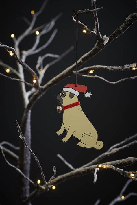 pug tree decoration pug tree decoration by sweet william designs notonthehighstreet