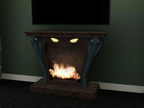 spooky fireplace sims 3