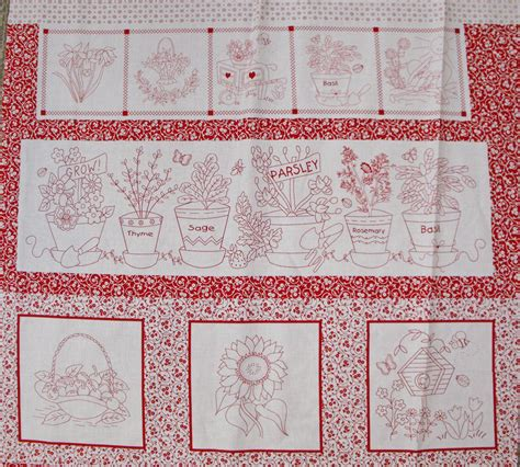 Patchwork Quilt Chords - garden grow patchwork quilting sewing fabric