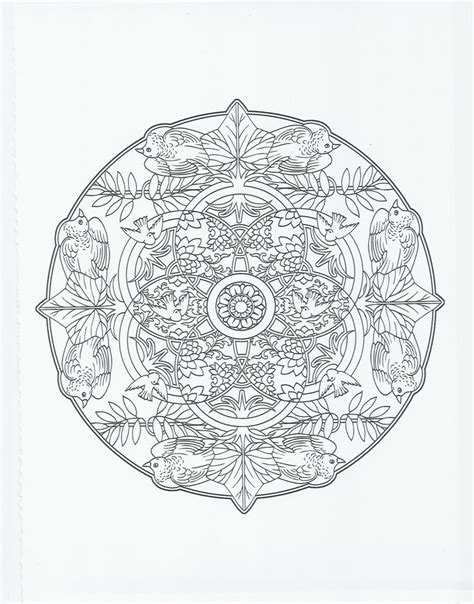 bird mandala coloring pages animal mandala bird coloring pages