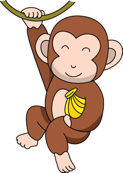 monkey clipart monkey banana clipart clipart best