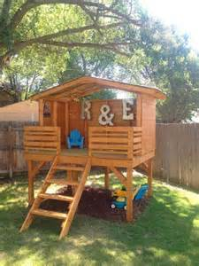 backyard clubhouse for 16 creative wooden playhouses designs for your yard