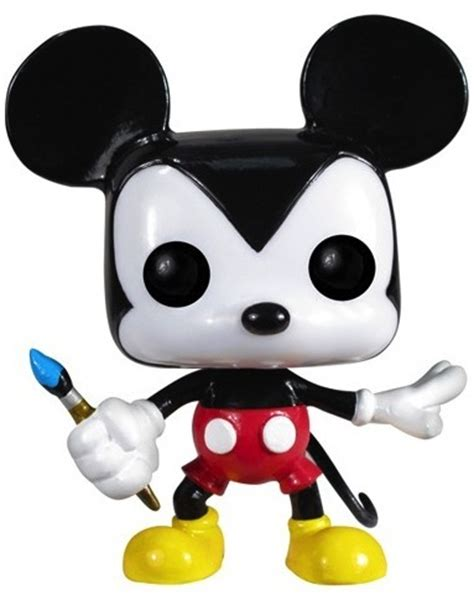 Funko Pop Mickey Mouse mickey mouse w paint brush pop vinyl by disney trt library