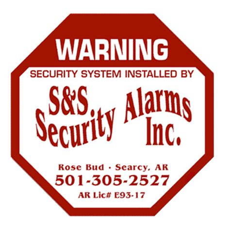 s s security alarms in searcy ar 72143