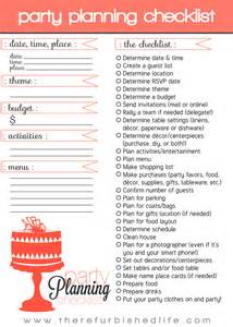 home party plans party planning 101 with printable checklist t h e r
