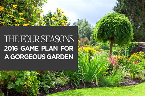 your 2016 landscaping game plan landscaping services mi