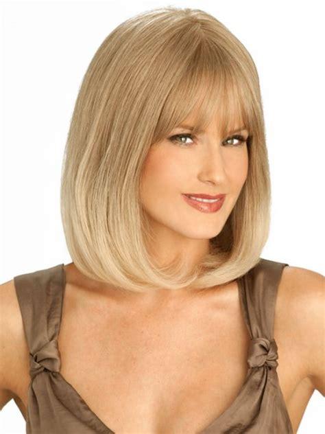 blonde hairstyles square faces 16 latest medium length hairstyles for square faces wigs