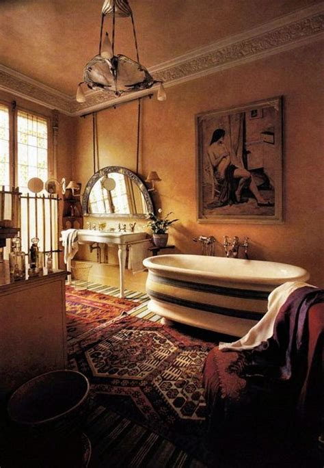 15 captivating bohemian bathroom designs rilane