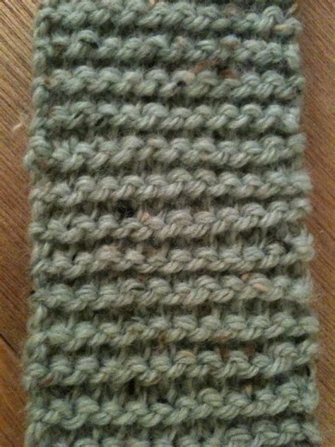 how to end a knit stitch the not moss stitch scarf