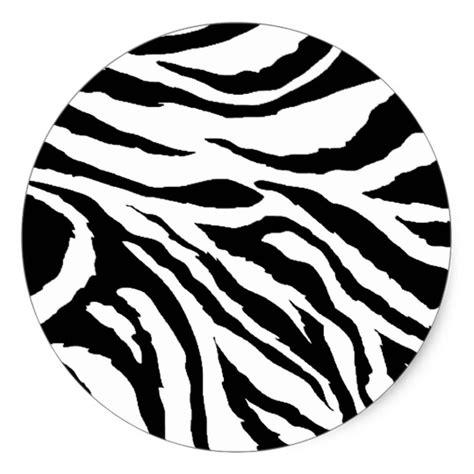 zebra pattern dwg zebra print round stickers zazzle com