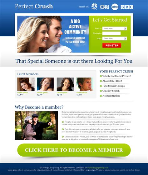 dating community landing page 008 dating landing page