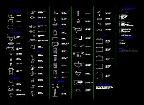 symbols  processing plants  autocad cad  kb