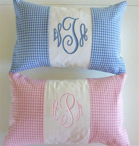 Pillow For Baby by Baby Pillow Baby Boy Pillow Embroidered By