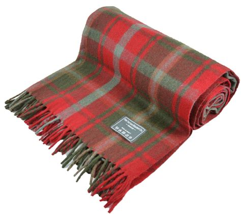 rug blanket new scottish wool tartan blanket throw rug gift various tartans ebay