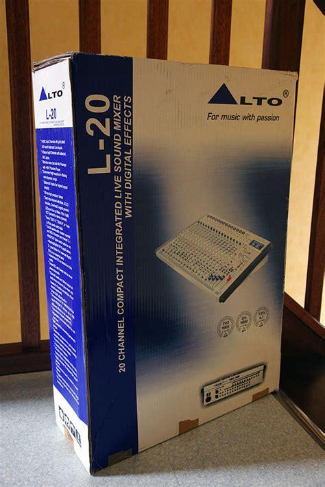 Mixer Alto L20 alto professional l20 image 377382 audiofanzine