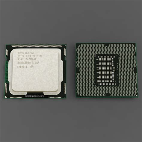 intel i5 750 sockel intel i5 750 3d model