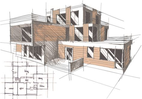 how to design a building set of layout of the building design vector 06 vector