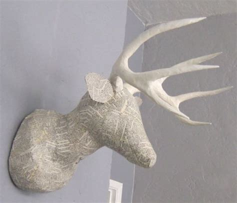 How To Make Paper Mache Antlers - 78 best images about gazelle on wall mount
