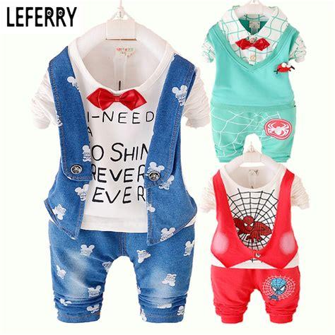 Aliexpress Buy Fashion Baby Clothing Aliexpress Buy 2016 New Autumn Clothing Set Baby Boy Clothes Set Toddler Boys Clothing