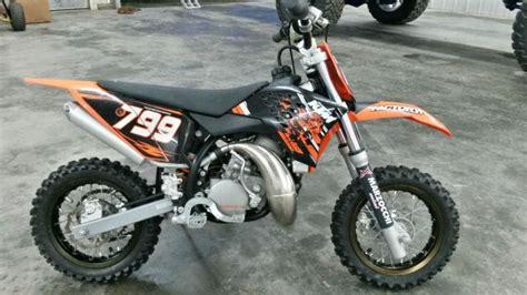 2009 Ktm 50 Sx For Sale Buy 2009 Ktm 50 Junior Only 6 Hours On Bike On 2040 Motos